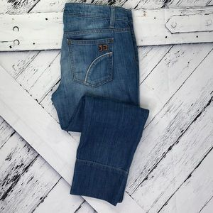 JOE'S JEANS Paltrow Wash Cropped Capri Jeans sz 28